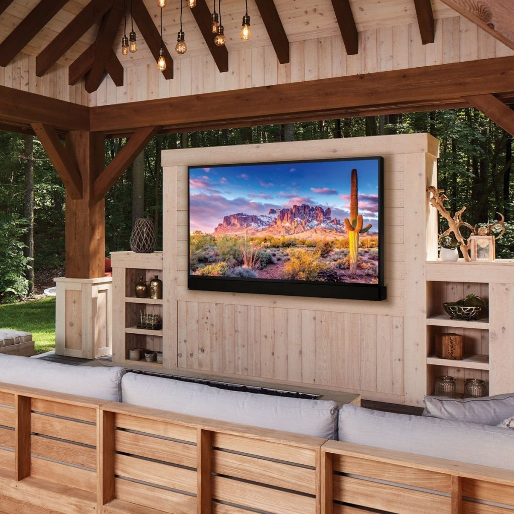 Seura TVs Livens Up Your Outdoor Entertainment System