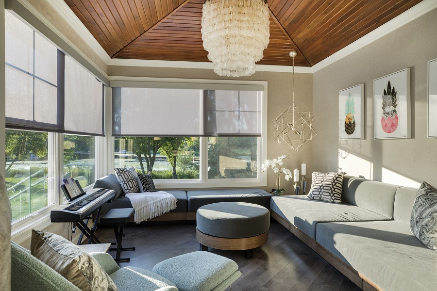 How Can Motorized Shades Help You Protect Your Family?