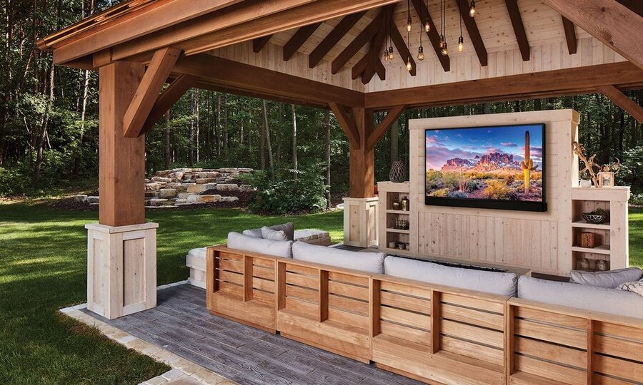 Host the Ultimate Movie Viewing with Your Outdoor TV!