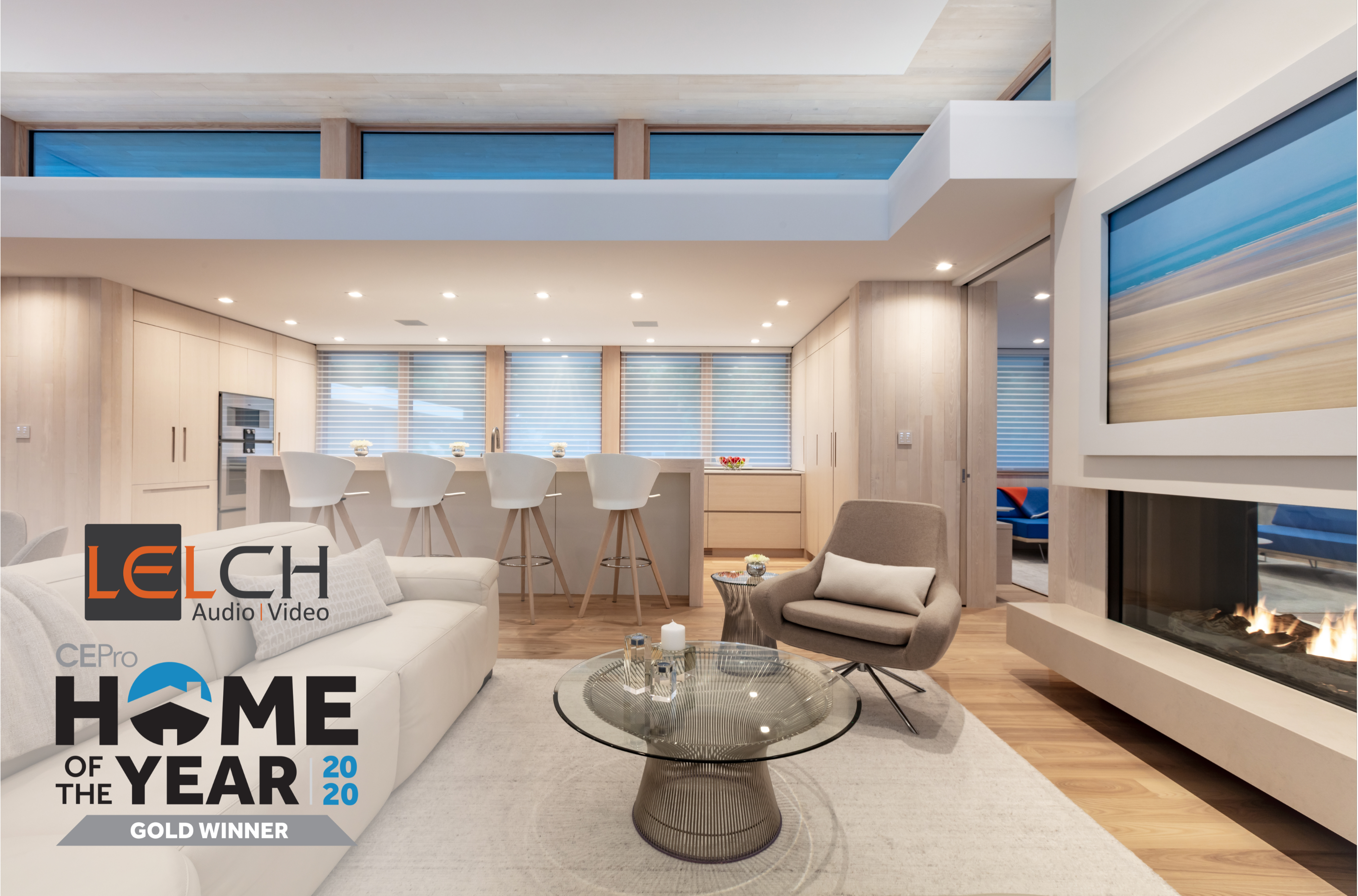 Lelch Audio Video Is a 2020 CE Pro Home of the Year Award Winner