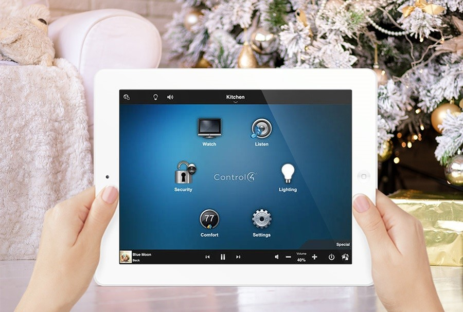 Home Lighting Control, Holiday Party Style
