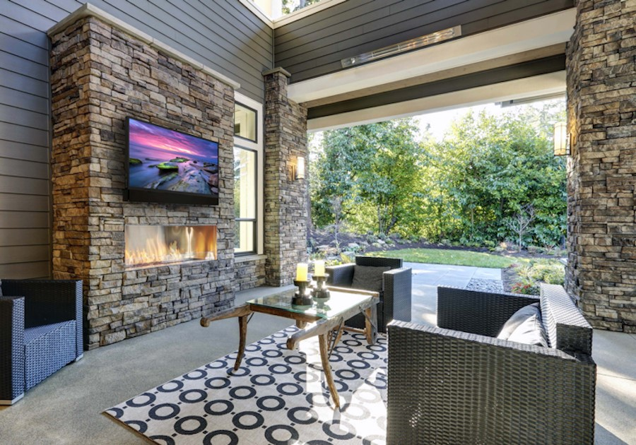 Transform Your Outdoor Space with Audio-Video Entertainment